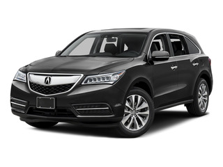 2016 Acura MDX Pictures MDX Utility 4D Technology DVD AWD V6 photos side front view