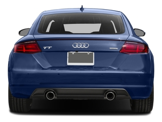 2016 Audi TT Pictures TT Coupe 2D AWD photos rear view