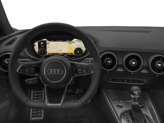 2016 Audi TT Pictures TT Coupe 2D AWD photos driver's dashboard