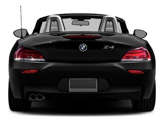 2016 BMW Z4 Pictures Z4 Roadster 2D Z4 35is I6 photos rear view