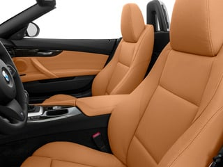 2016 BMW Z4 Pictures Z4 Roadster 2D Z4 35is I6 photos front seat interior