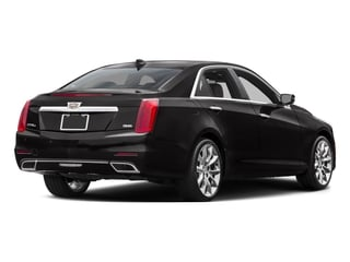 2016 Cadillac CTS Sedan Pictures CTS Sedan 4D Luxury I4 Turbo photos side rear view