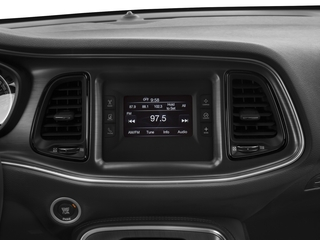2016 Dodge Challenger Pictures Challenger Coupe 2D SXT Plus V6 photos stereo system