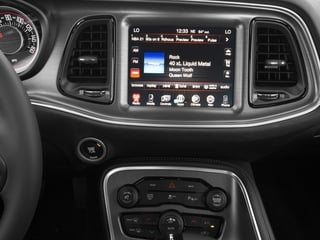 2016 Dodge Challenger Pictures Challenger Coupe 2D R/T V8 photos stereo system