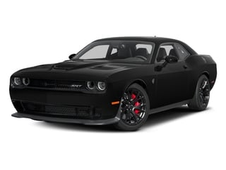 2016 Dodge Challenger Pictures Challenger Coupe 2D SRT Hellcat V8 Supercharged photos side front view