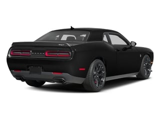 2016 Dodge Challenger Pictures Challenger Coupe 2D SRT Hellcat V8 Supercharged photos side rear view