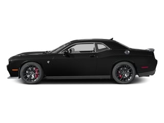 2016 Dodge Challenger Pictures Challenger Coupe 2D SRT Hellcat V8 Supercharged photos side view