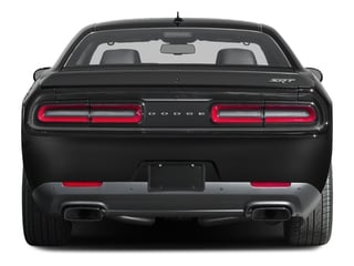 2016 Dodge Challenger Pictures Challenger Coupe 2D SRT Hellcat V8 Supercharged photos rear view