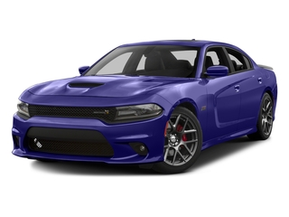 2016 Dodge Charger Pictures Charger Sedan 4D R/T Scat Pack V8 photos side front view