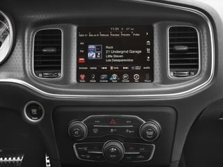 2016 Dodge Charger Pictures Charger Sedan 4D R/T Scat Pack V8 photos stereo system