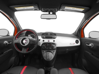 2016 FIAT 500e Pictures 500e Hatchback 3D 500e Electric photos full dashboard
