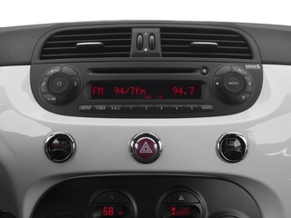 2016 FIAT 500e Pictures 500e Hatchback 3D 500e Electric photos stereo system