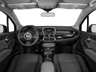 2016 FIAT 500X Pictures 500X Utility 4D Pop 2WD I4 Turbo Manual photos full dashboard