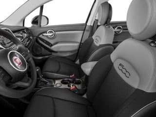 2016 FIAT 500X Pictures 500X Utility 4D Pop 2WD I4 Turbo Manual photos front seat interior