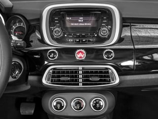 2016 FIAT 500X Pictures 500X Utility 4D Pop 2WD I4 Turbo Manual photos stereo system