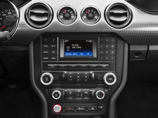 2016 Ford Mustang Pictures Mustang Coupe 2D GT V8 photos stereo system