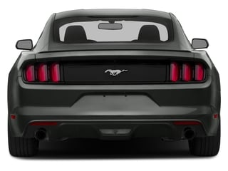 2016 Ford Mustang Pictures Mustang Coupe 2D EcoBoost Premium I4 Turbo photos rear view
