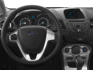 2016 Ford Fiesta Pictures Fiesta Hatchback 5D SE EcoBoost I3 Turbo photos driver's dashboard