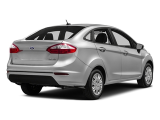 2016 Ford Fiesta Pictures Fiesta Sedan 4D SE I4 photos side rear view