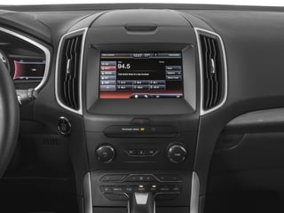 2016 Ford Edge Pictures Edge Utility 4D SEL 2WD V6 photos stereo system