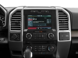 2016 Ford F-150 Pictures F-150 Supercab Lariat 2WD photos stereo system