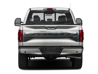 2016 Ford F-150 Pictures F-150 Crew Cab Platinum 2WD photos rear view