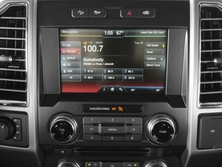 2016 Ford F-150 Pictures F-150 Crew Cab Platinum 2WD photos stereo system