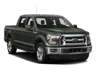 2016 Ford F-150 Pictures F-150 Crew Cab XLT 2WD photos side front view