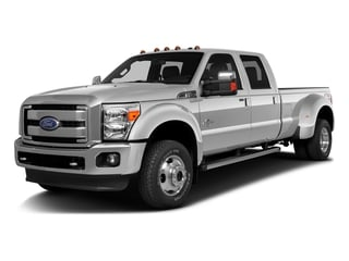 2016 Ford Super Duty F-350 DRW Pictures Super Duty F-350 DRW Crew Cab Platinum 4WD photos side front view