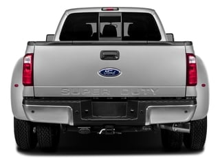2016 Ford Super Duty F-350 DRW Pictures Super Duty F-350 DRW Crew Cab Platinum 4WD photos rear view