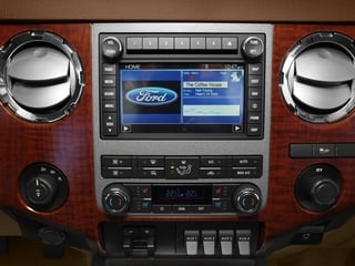 2016 Ford Super Duty F-250 SRW Pictures Super Duty F-250 SRW Crew Cab King Ranch 2WD photos stereo system