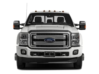 2016 Ford Super Duty F-450 DRW Pictures Super Duty F-450 DRW Crew Cab Platinum 4WD T-Diesel photos front view