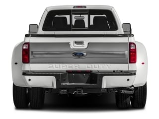 2016 Ford Super Duty F-450 DRW Pictures Super Duty F-450 DRW Crew Cab Platinum 4WD T-Diesel photos rear view