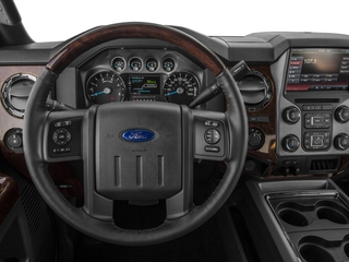 2016 Ford Super Duty F-450 DRW Pictures Super Duty F-450 DRW Crew Cab Platinum 4WD T-Diesel photos driver's dashboard