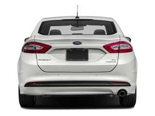 2016 Ford Fusion Pictures Fusion Sedan 4D S I4 Hybrid photos rear view