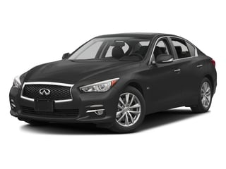 2016 INFINITI Q50 Pictures Q50 Sedan 4D 2.0T Premium I4 Turbo photos side front view