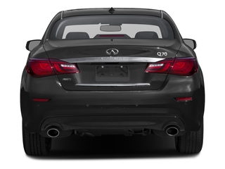 2016 INFINITI Q70 Pictures Q70 Sedan 4D V6 photos rear view