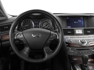 2016 INFINITI Q70L Pictures Q70L Sedan 4D LWB V6 photos driver's dashboard
