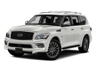 2016 INFINITI QX80 Pictures QX80 Utility 4D 2WD V8 photos side front view