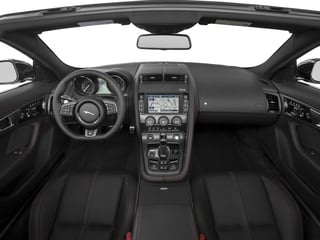 2016 Jaguar F-TYPE Pictures F-TYPE Convertible 2D R AWD V8 photos full dashboard
