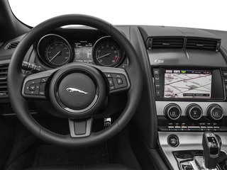 2016 Jaguar F-TYPE Pictures F-TYPE Convertible 2D V6 photos driver's dashboard