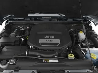 2016 Jeep Wrangler Pictures Wrangler Utility 2D Sahara 4WD V6 photos engine