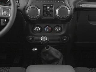 2016 Jeep Wrangler Unlimited Pictures Wrangler Unlimited Utility 4D Unlimited Sport 4WD V6 photos center console