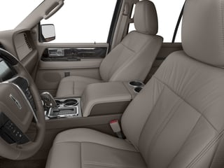 2016 Lincoln Navigator L Pictures Navigator L Utility 4D Select 2WD V6 Turbo photos front seat interior