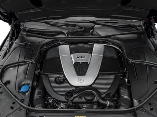2016 Mercedes-Benz S-Class Pictures S-Class Sedan 4D S600 V12 Turbo photos engine