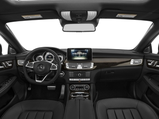 2016 Mercedes-Benz CLS Pictures CLS Sedan 4D CLS550 V8 Turbo photos full dashboard