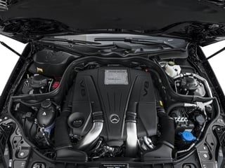 2016 Mercedes-Benz CLS Pictures CLS Sedan 4D CLS550 V8 Turbo photos engine