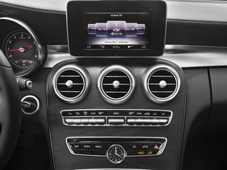 2016 Mercedes-Benz C-Class Pictures C-Class Sedan 4D C300 AWD I4 Turbo photos stereo system