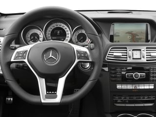 2016 Mercedes-Benz E-Class Pictures E-Class Coupe 2D E400 V6 Turbo photos driver's dashboard