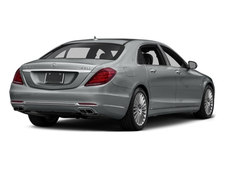 2016 Mercedes-Benz S-Class Pictures S-Class Sedan 4D S600 Maybach V12 Turbo photos side rear view